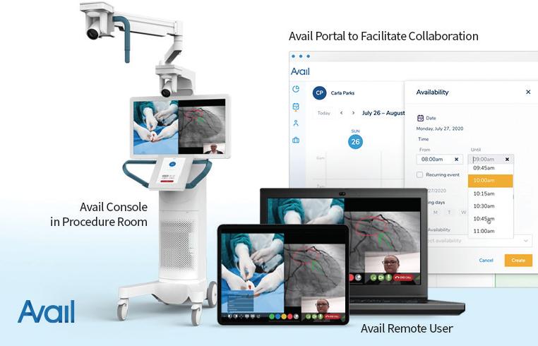 Figure 1. The Avail Procedural Telemedicine™ System.